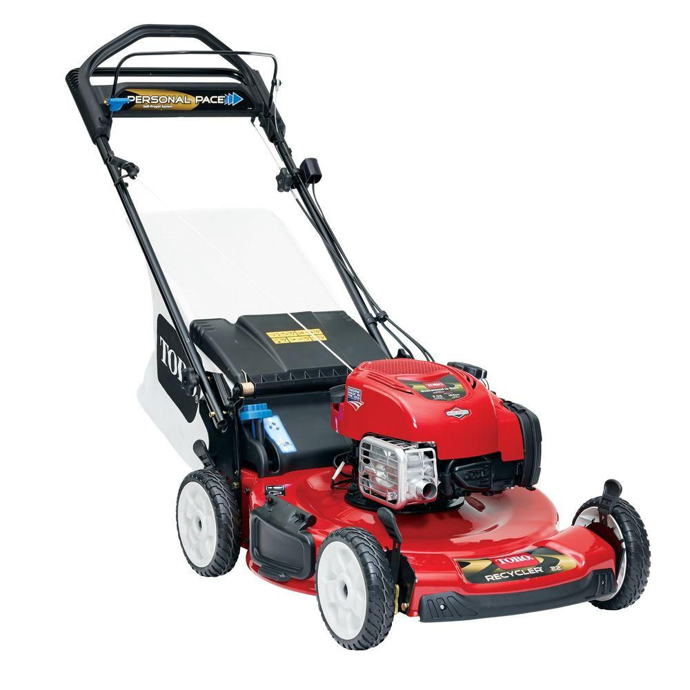 22-inch Personal Pace Electric Start Self-Propelled Gas Mower