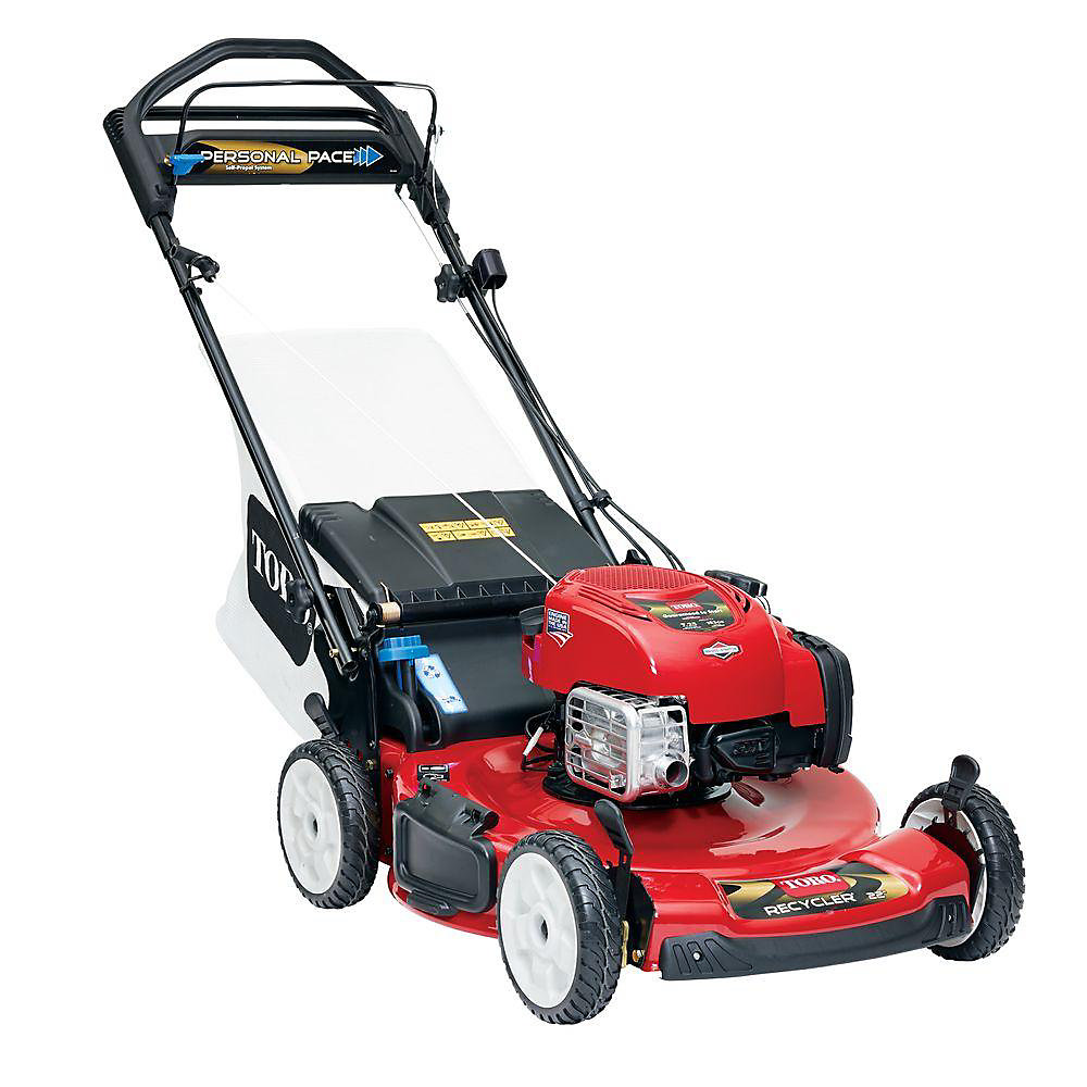 Personal Pace 22-inch Briggs & Stratton Gas Self-Propelled Lawn Mower with Electric Starter