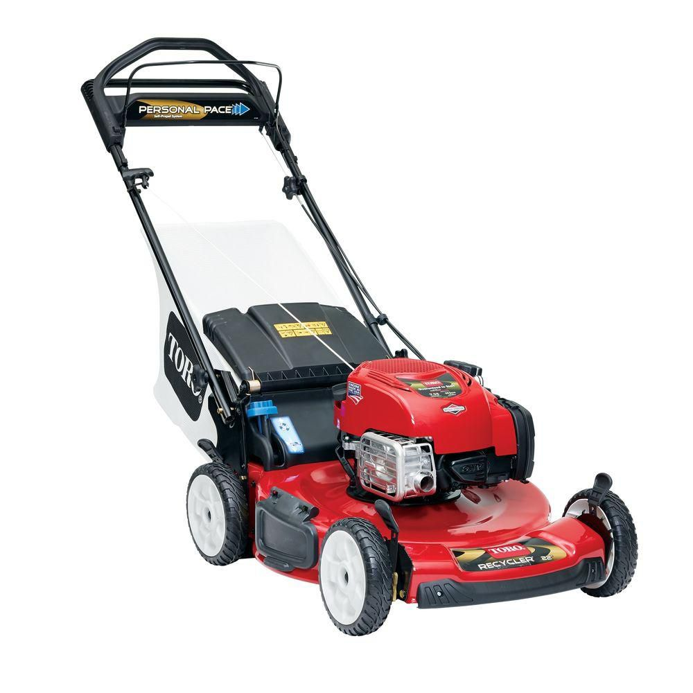 22-inch Personal Pace Self-Propelled Gas Mower