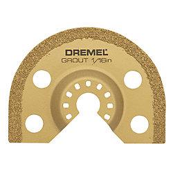 Dremel Lame de 1,6 mm (1/16 po) pour enlever le coulis.