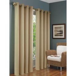 Thermalogic Brooks Insulated Curtain, Beige - 54 Inches X 84 Inches