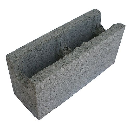 Basalite Concrete Products 15CM SM BB GREY