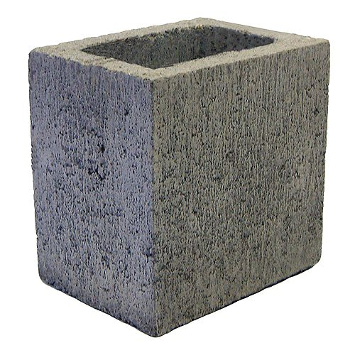 Basalite Concrete Products 30CM SM HALF GREY