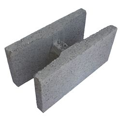 Basalite Concrete Products 20CM SM H BLOCK GREY 35MPA