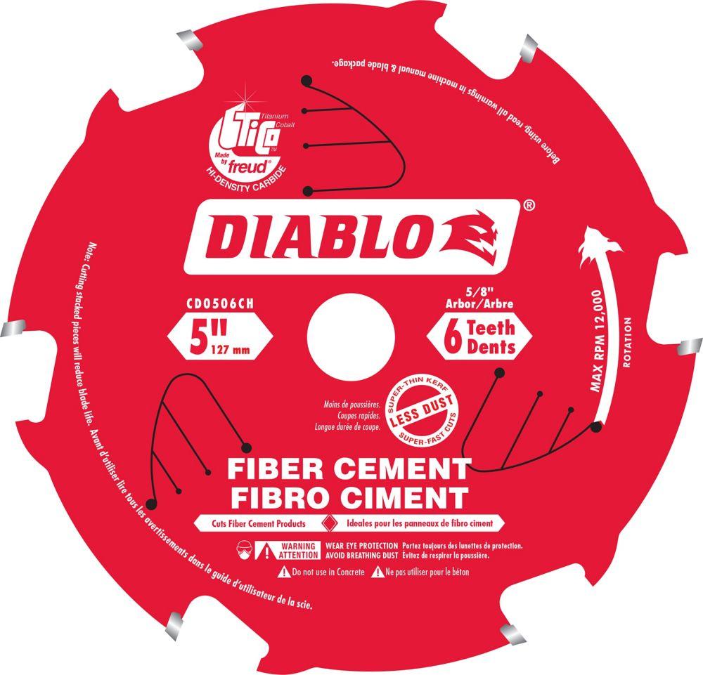 Lame Pour Fibro Ciment 5 Pousses
