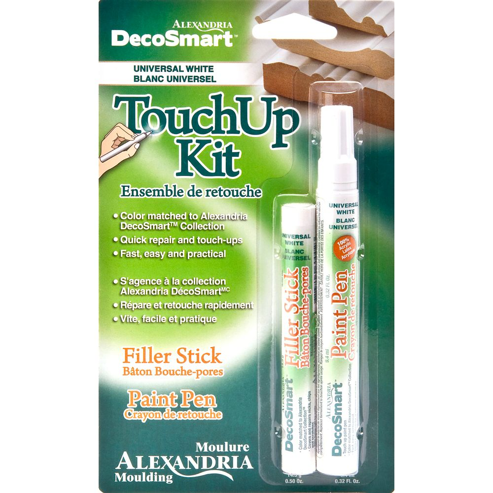 Alexandria Moulding Decosmart White Touch Up Kit
