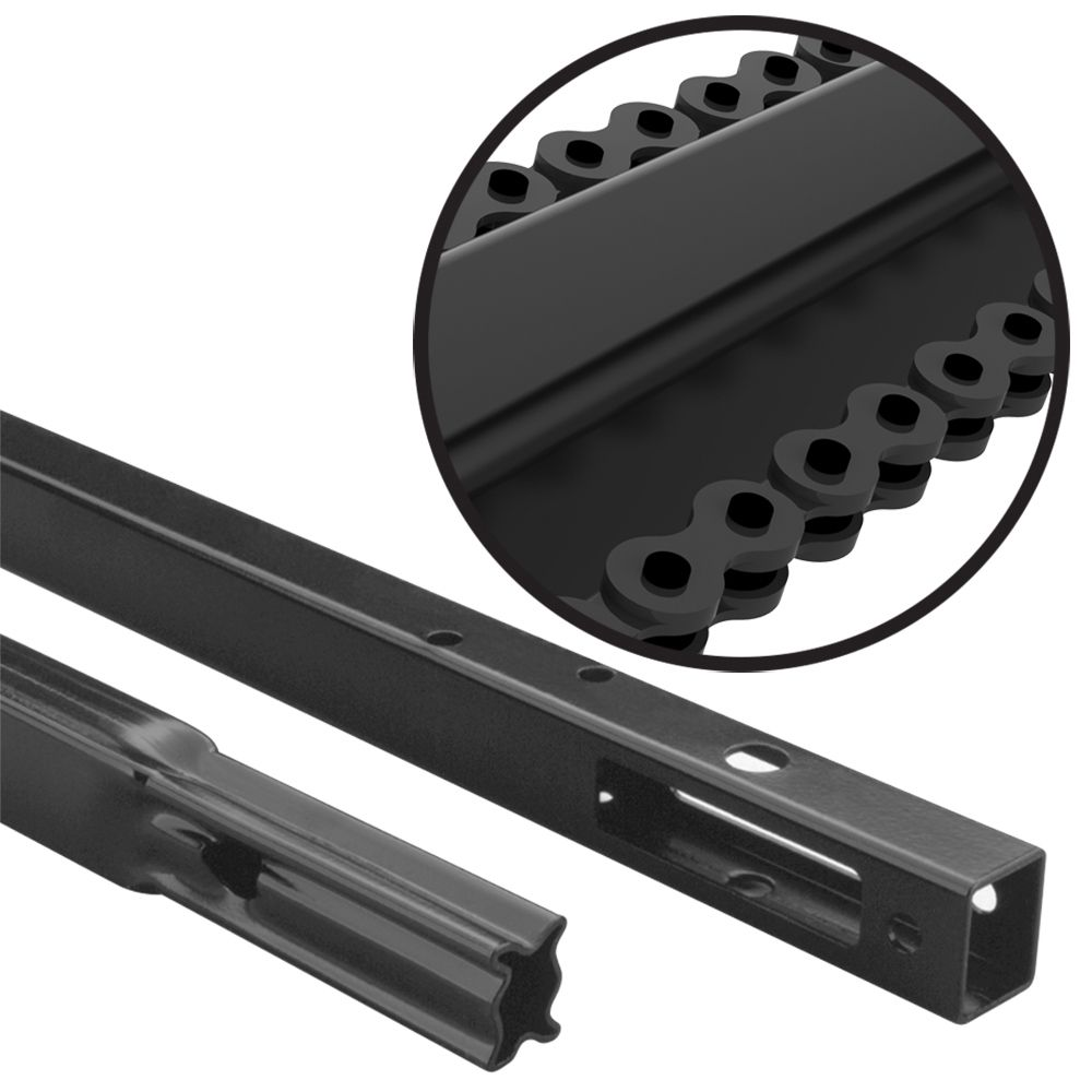 Chain Drive Rail Extension Kit for 10 Feet High Garage Doors