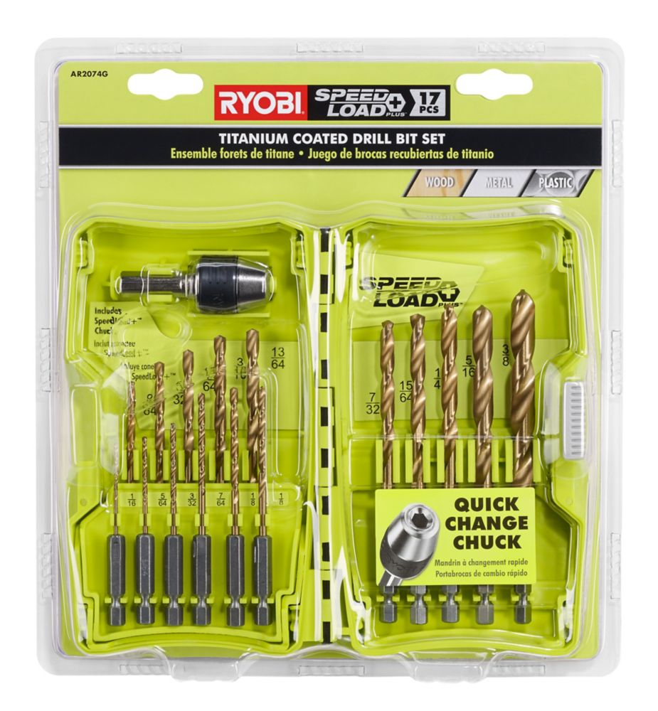Titanium Speedload 17pc Set GREEN