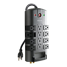 12 Outlet Home Theater Surge 12 Ft. cord