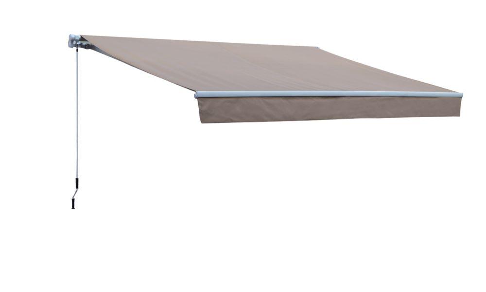 Manual Retractable Awning - 8 Feet x 5 Feet