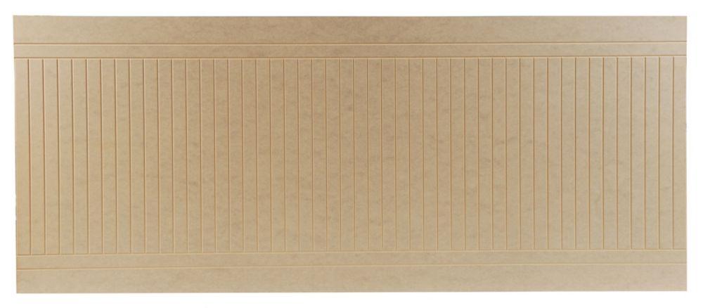 Fibreboard Venetian Wall Panel 7.6 mm x 40 Inches x 96 Inches