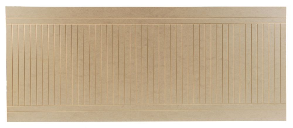 Fibreboard Venetian Wall Panel 7.6 mm x 40 Inches x 96 Inches