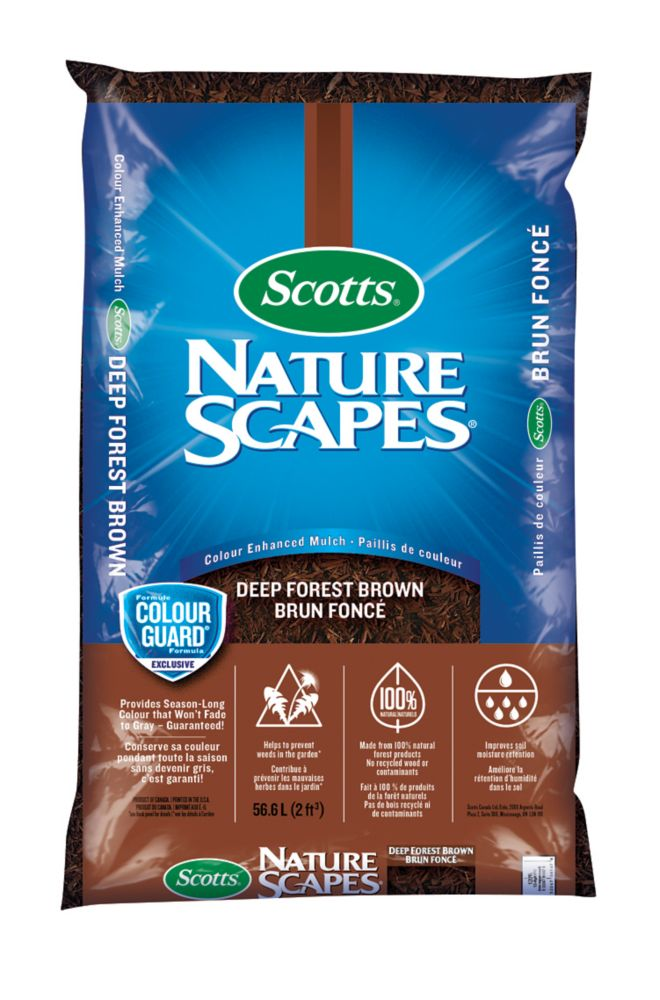 Scotts Nature Scapes Mulch Deep Forest Brown - 56.6 Litre