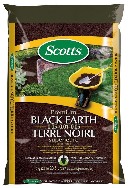 Terre noire supérieur Scotts