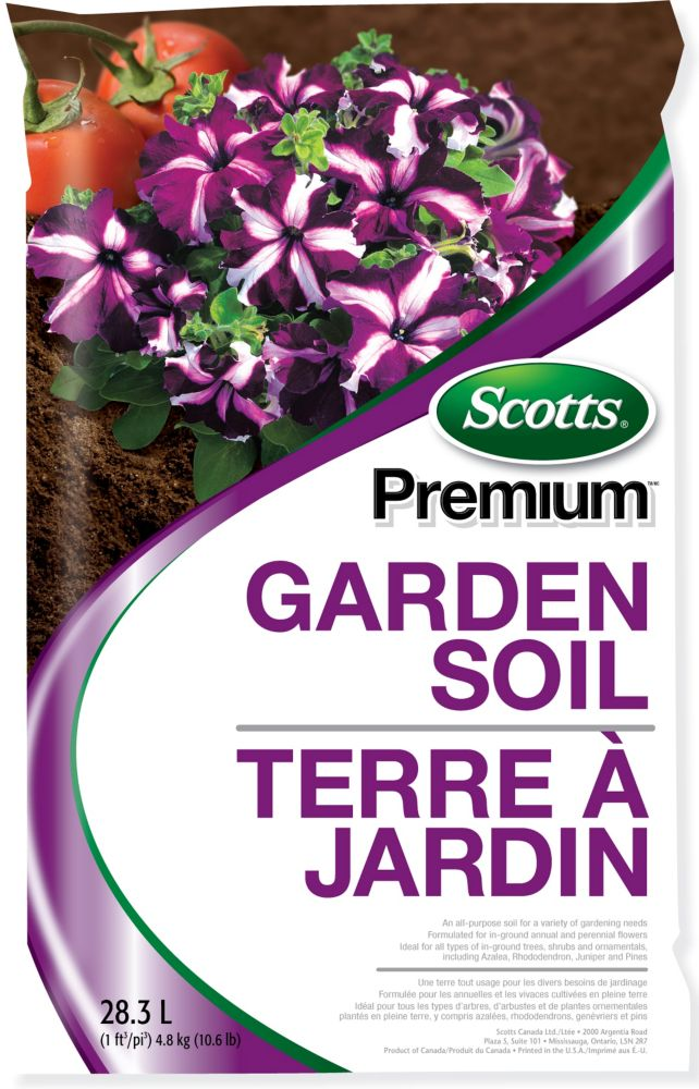 Terre à jardin de première qualité, 28,3 L