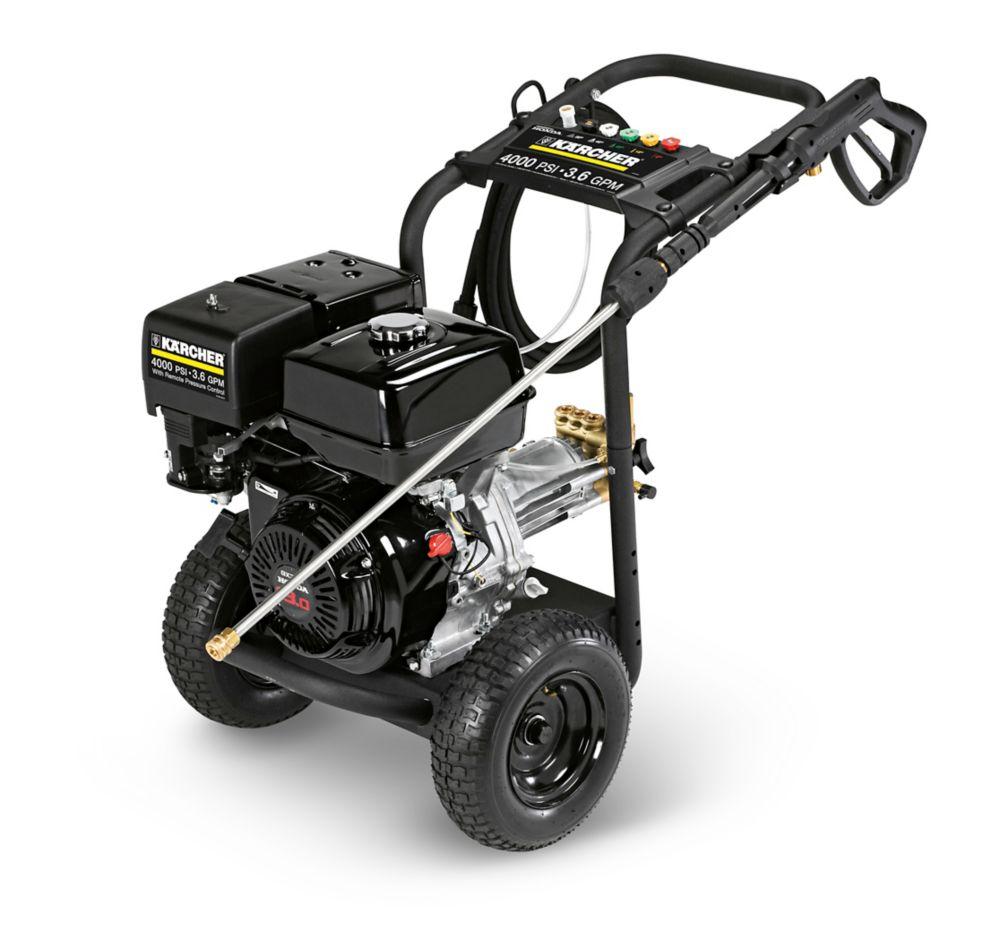 G4000OH Nettoyeur à pression à essence professionnel avec moteur Honda