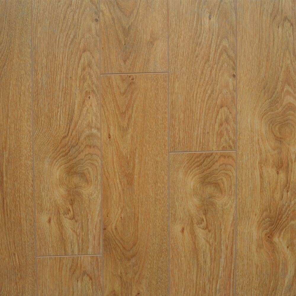 Laminate 12mm Thick x 5-inch W Oak Laminate Flooring