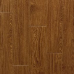 Laminate 12mm Thick x 5-inch W Pecan Laminate Flooring