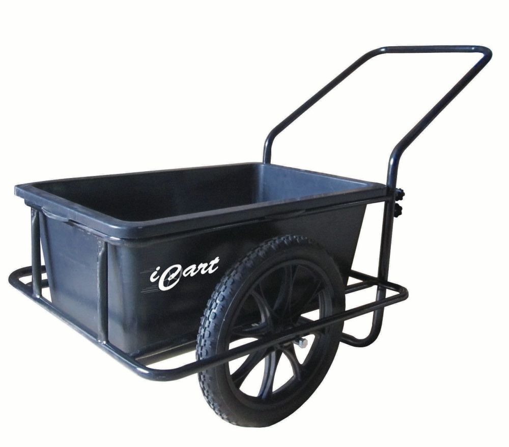 Icart Powder-Coated Steel Dock Cart with E-Z Roll Tires
