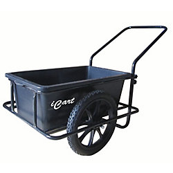 Dock Edge Icart Powder-Coated Steel Dock Cart with E-Z Roll Tires