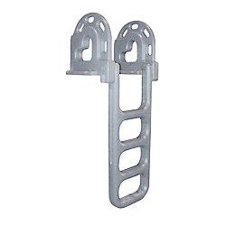 Dock Edge Roto-Moulded 4-Step Flip-Up Dock Ladder