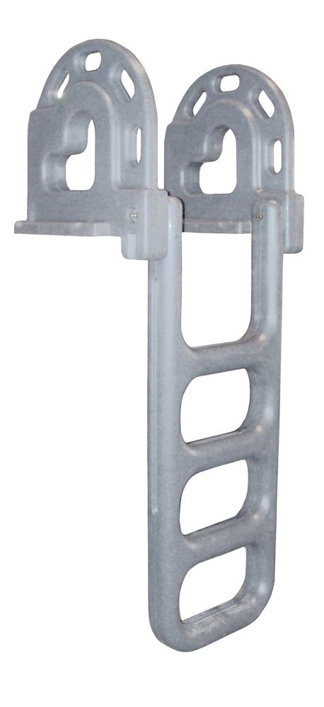 Roto-Molded 4-Step Flip-Up Dock Ladder