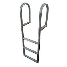 3-Step Aluminum Dock Ladder