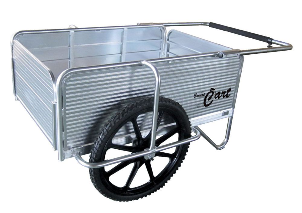 SmartCart Aluminum Dock Cart with E-Z Roll Tires