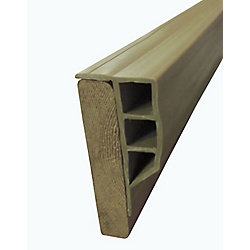 Dock Edge 24 ft. Full Face Profile in Beige