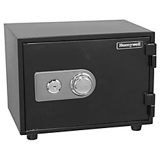 Steel Fire & Security Safe with Combination Dial, 0.61 cu.ft.