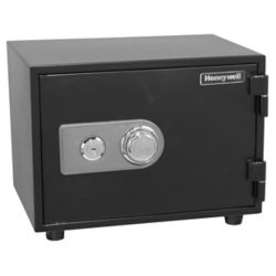 Honeywell Steel Fire & Security Safe with Combination Dial, 0.61 cu.ft.