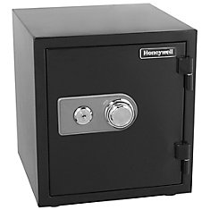 Steel Fire & Security Safe, 1.23 cu.ft.