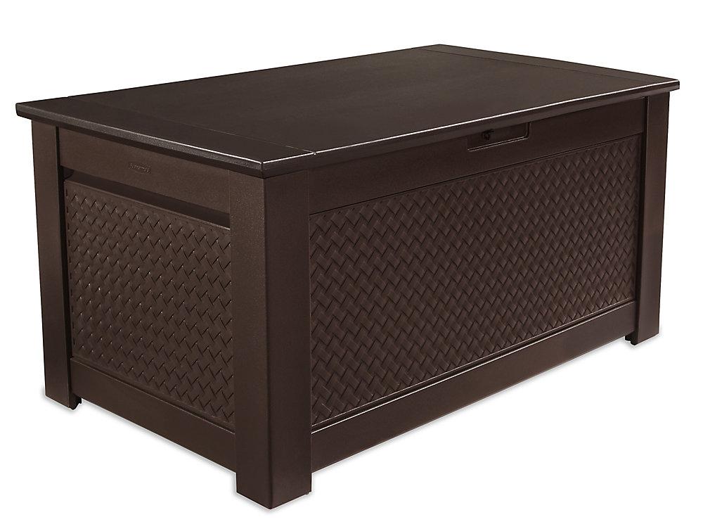 Rubbermaid 12.5 Cu. Ft. Storage Bench Deck Box
