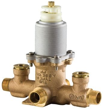 TX8 Series Tub/Shower Rough Valve with Stops