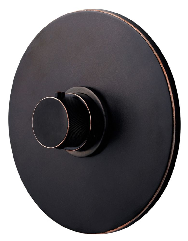 Trousse de robinetterie thermostatique universelle et cartouche de soupape, fini Bronze toscan