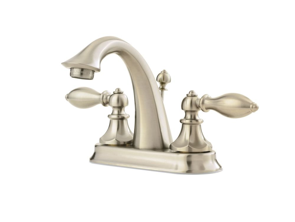 Monterrey 8 Inch Widespread 2 Handle High Arc Bathroom Faucet In Polished Chr