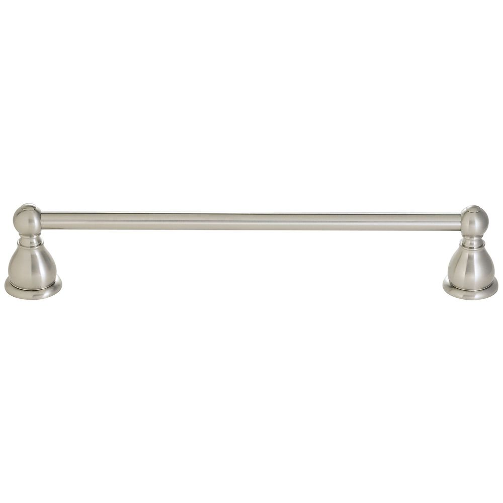 Conical 24 inch Towel Bar in Brushed Nickel