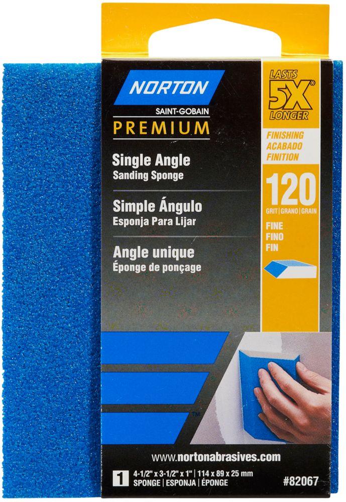Sponge 5X Premium Single Angle 4-1/2 Inch x3-1/2 Inch x1 Inch 120g