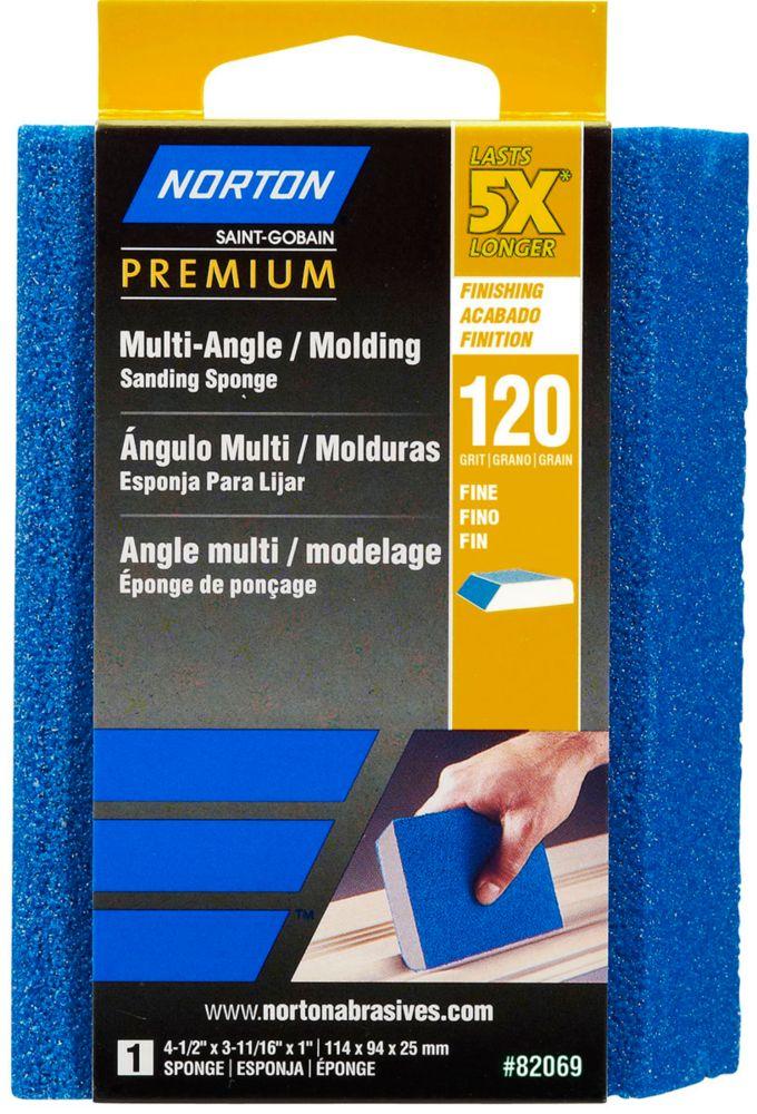 Sponge 5X Premium Multi Angle 4-1/2 Inch x3-11/16 Inch x1 Inch  120g