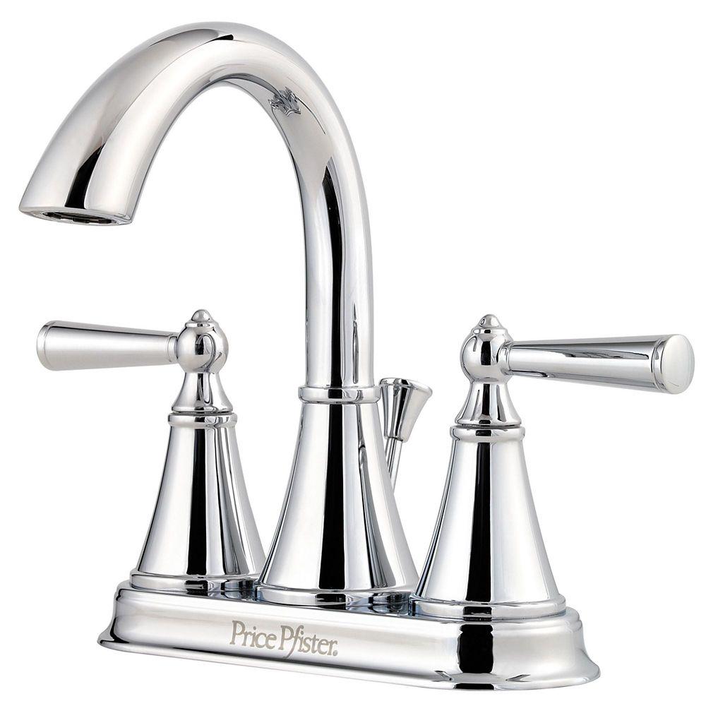 Pfister robinet de salle de bain monobloc saxton entr 4 for Changer robinet salle de bain