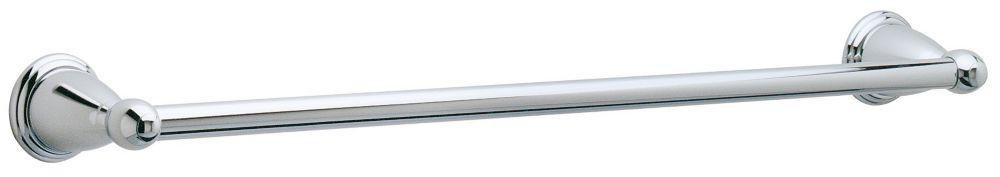 Barre porte-serviettes Conical de 24po, fini Chrome poli