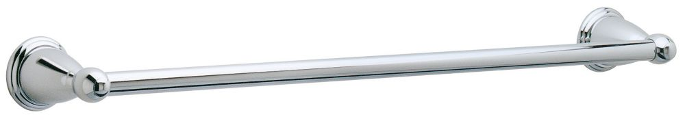 Conical 24 inch Towel Bar in Polished Chrome