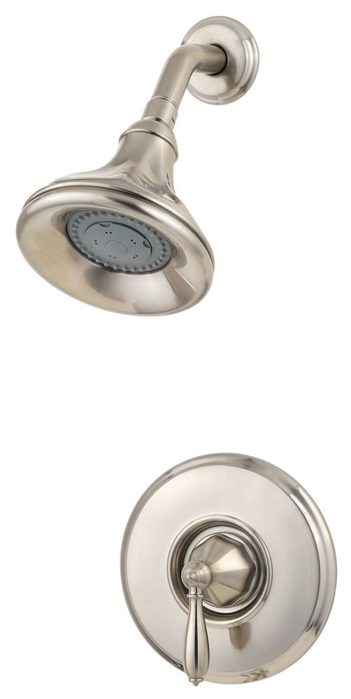 Portola Single-Handle Shower Faucet in Brushed Nickel