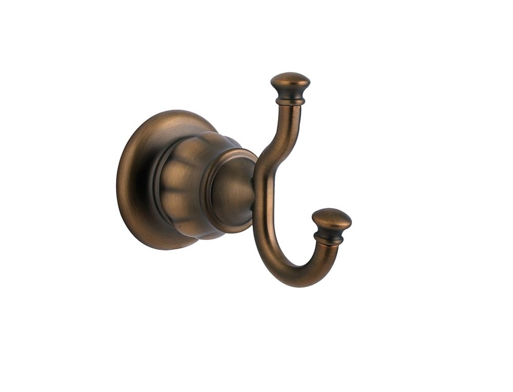 Treviso Single Robe Hook in Velvet Aged Bronze