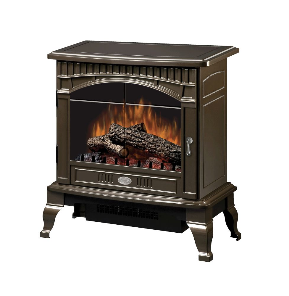 Hampton Bay Mokeno Electric Traditional Stove in Bronze