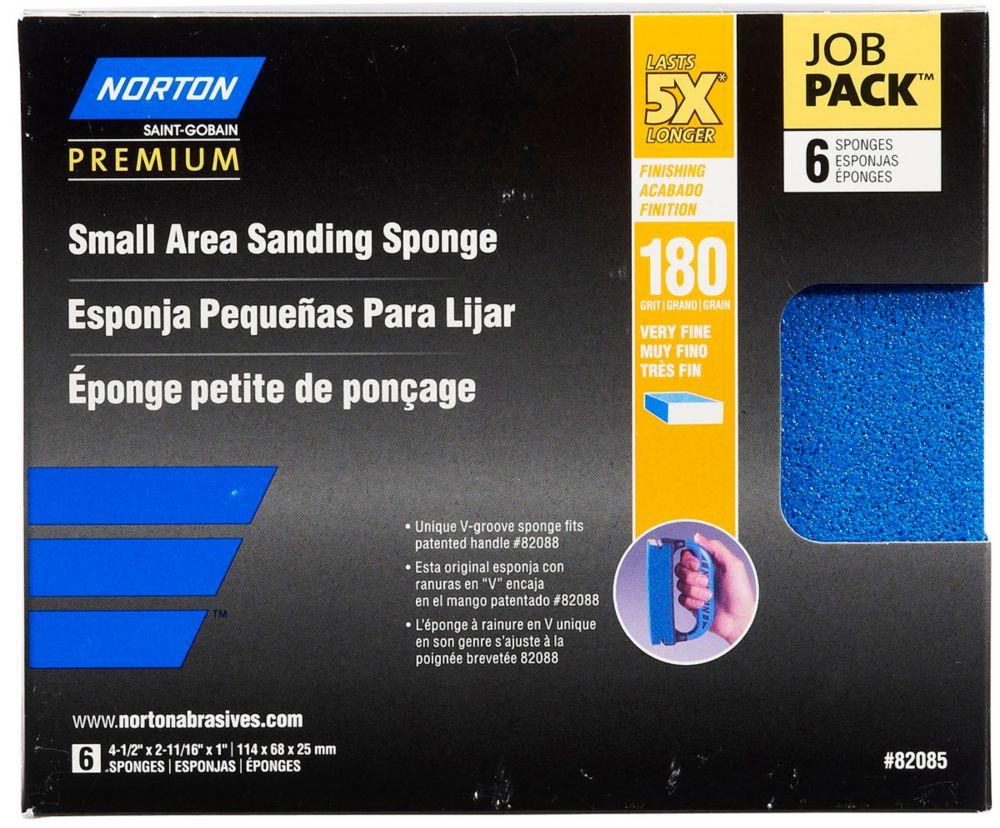 Éponge Petite Surface Job pack / emballage de 6