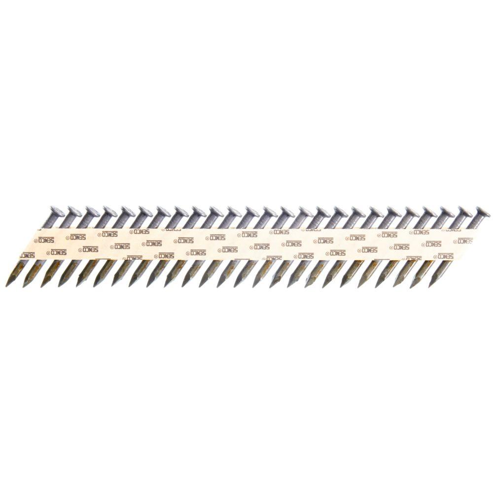 34Deg Heat Treated Metal Connector GALV Nails .148 2M
