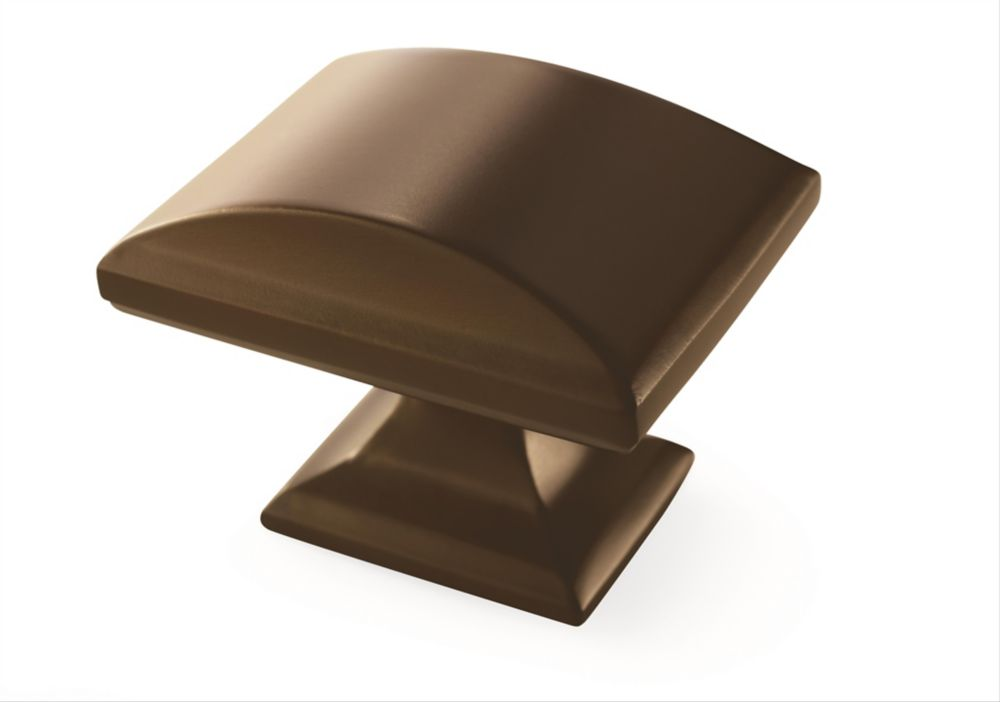 Amerock Candler 1-1/2-inch (38mm) LGTH Knob - Caramel Bronze