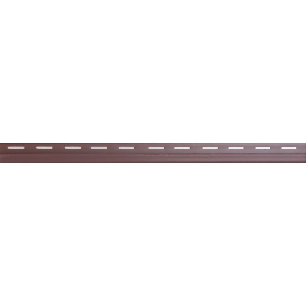 Moulure de finition - cabot rouge