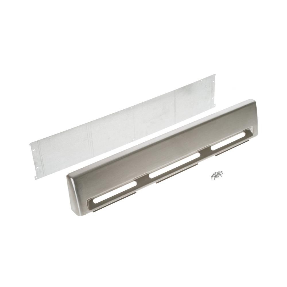 Café Optional Backsplash for GE Café 30-inch Ranges in Stainless Steel